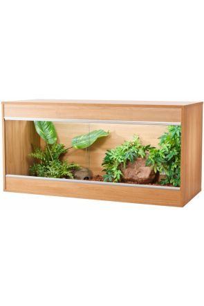 VIVEXOTIC REPTIHOME MAXI VIVARIUM LARGE - OAK (PT4087)