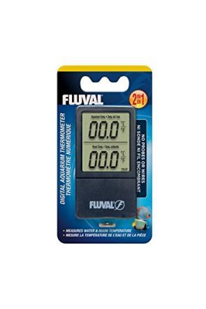 Fluval 2 in 1 digital thermometer 11193