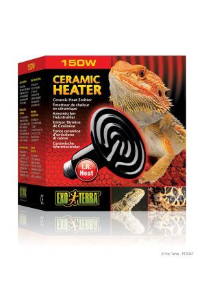 Exo Terra Heat Wave Ceramic Lamp 150w (PT2047)