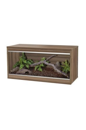VIVEXOTIC REPTIHOME MEDIUM - WALNUT (PT4073)