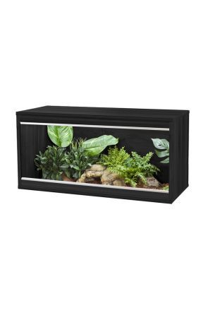 VIVEXOTIC REPTIHOME MEDIUM - BLACK (PT4132)