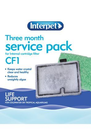 Interpet Three Month Service Pack (for Interpet CF1 filter)
