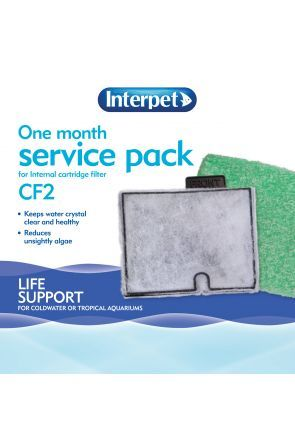 Interpet One Month Service Pack (for Interpet CF2 filter)