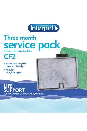 Interpet Three Month Service Pack (for Interpet CF2 filter)