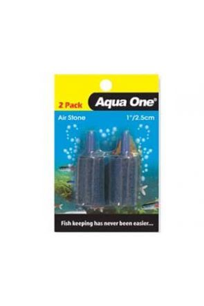 "Airstone 1"" cylinder (2 pack)"