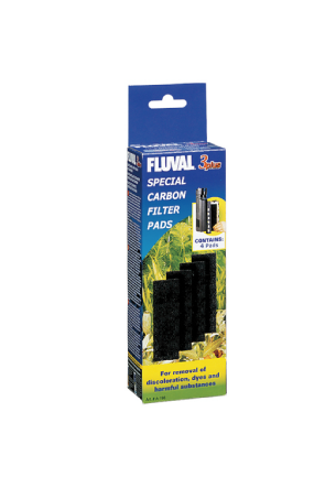 Fluval 3 plus filter - Carbon Pads A196
