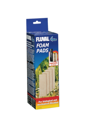 Fluval 4 plus filter Foam Pads A186