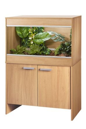 VIVEXOTIC REPTIHOME VIVARIUM & CABINET MAXI MEDIUM - OAK (PT4084 / PT4038)