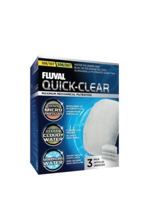 Fluval Quick Clear Pad 104/5/6/7 & 204/5/6/7 3 per pack A242