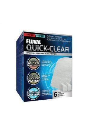 Fluval Quick Clear Pad 304/5/6/7 404/5/6/7 (6pk)