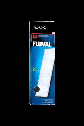 Fluval U3 Filter Poly/Carbon Cartridge - 2 per pack A491