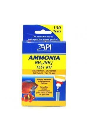 API Ammonia Liquid Test Kit NH3 / NH4