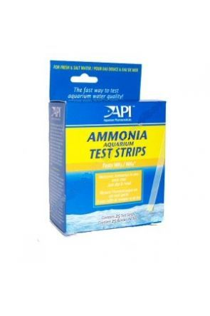 API Ammonia Test Strips  (25 tests)