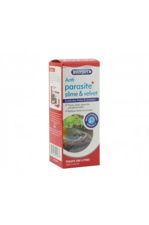 Interpet Anti Parasite Slime & Velvet + 100ml