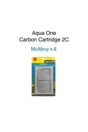 Aqua One Carbon Cartridge - 2C