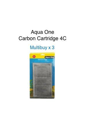 Aqua One Carbon Cartridge 4C