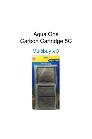 Aqua One Carbon Cartridge - 5C