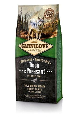 Carnilove Adult Dog -  Duck & Pheasant 1.5kg