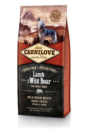 Carnilove Adult Dog -  Lamb & Wild Boar