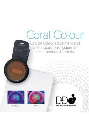 DD Coral Colour Lens for Phones