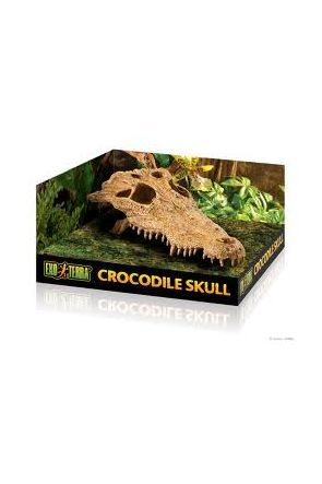 Exo Terra Crocodile Skull - Secure Hide (PT2856)