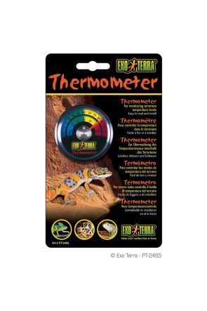 Exo Terra Dial Analogue Thermometer (PT2465)