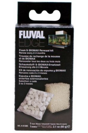 Fluval Edge Foam & Biomax Kit A1389