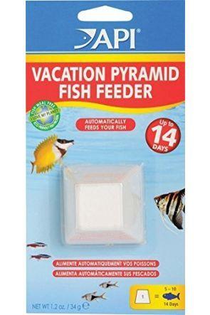 API 14 day Pyramid fish feeder