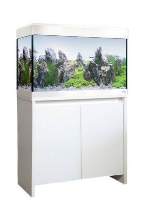 Fluval Roma 125 LED Aquarium & Cabinet (White)