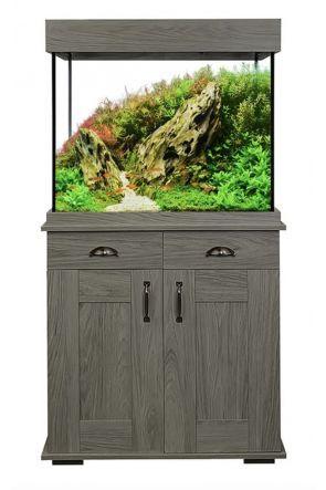 Fluval Shaker 168L Aquarium and Cabinet - Slate Grey