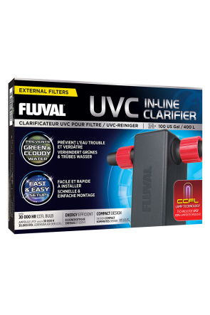 Fluval UVC in-Line Water Clarifier 3W