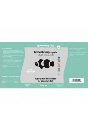Gamma Brine Shrimp with Garlic 250g