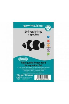 Gamma Brine Shrimp with Spirulina