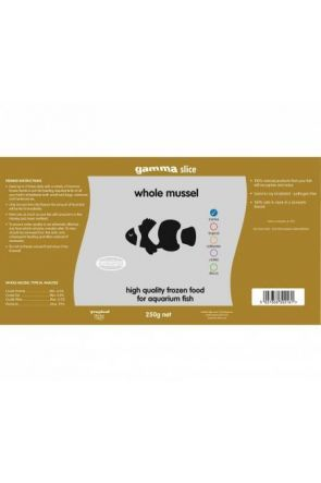 Gamma Whole Mussel 1250g