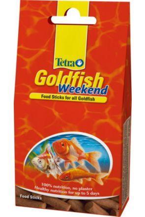 Tetra Goldfish Weekend food sticks