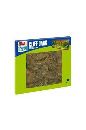 Juwel Aquarium Background - Cliff Dark (60x55cm)
