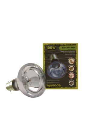Komodo Neodymium Daylight Spot Lamp BC - 100 watt
