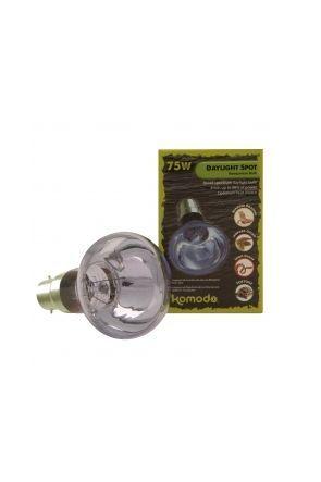 Komodo Neodymium Daylight Spot Lamp BC - 75 watt