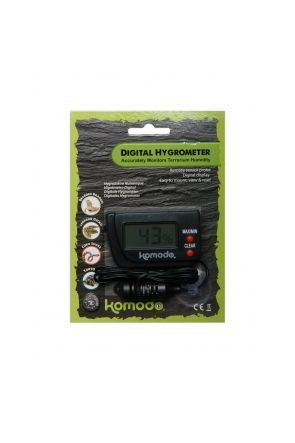 Komodo Digital Hygrometer for Reptiles