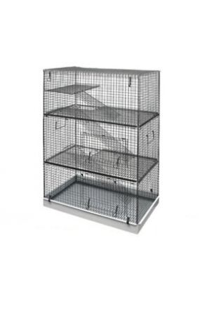 Lazy Bones Chinchilla Cage - 3 Tier