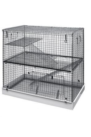 Lazy Bones Chinchilla Cage - 2 Tier
