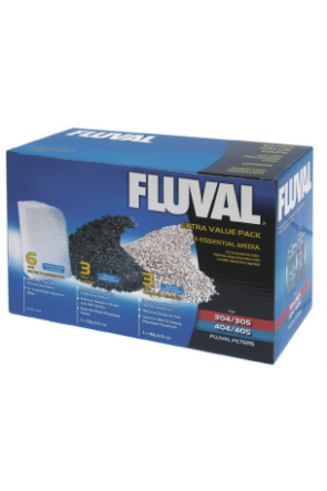 Fluval Extra Value Media Pack for 305 & 405 filters A1443