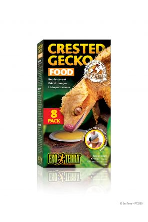 Exo Terra Crested Gecko Food (8 pack)