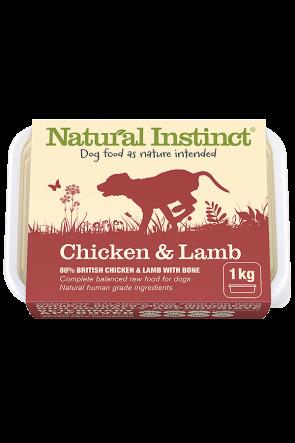 Natural Instinct Chicken & Lamb 1kg