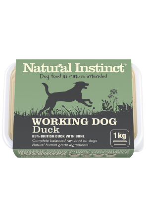 Natural Instinct Working Duck 1kg