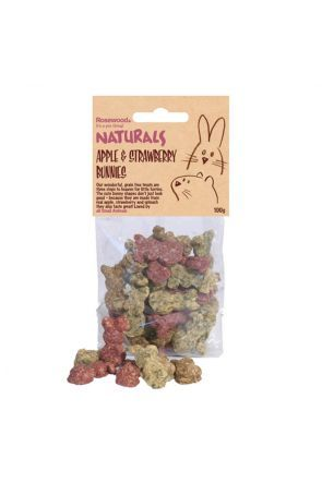 Rosewood Apple & Strawberry Small Animal Treats