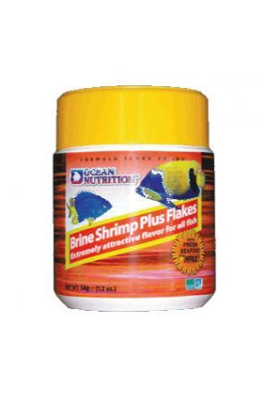 Ocean Nutrition Brine Shrimp Plus Flakes 34g