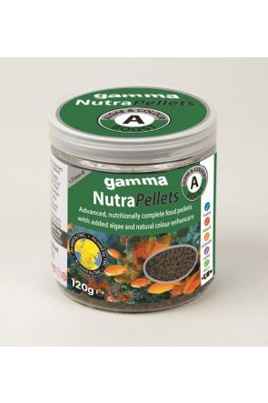 Gamma NutraPellets Algae & Colour Boost 120g