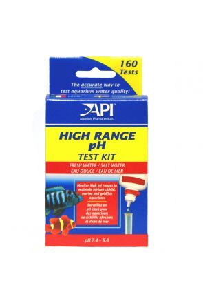 API pH High Range Liquid Test Kit (160 tests)