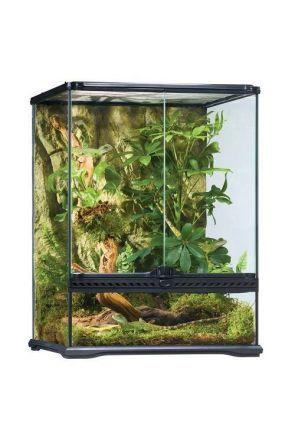 Exo Terra Glass Terrarium Small/Tall - 45cm x 45cm x 60cm (PT2607)